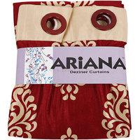 Ariana Door Curtain 215 Cm X 115 Cm, 7 Feet