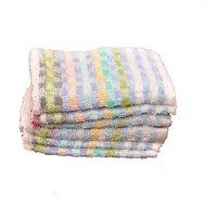 Face Towel, 6 multi color 26 cm x 26 cm