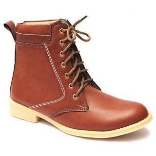 Men's Plain Toe Boot – Brown
