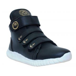 West Code Men'S Black Casual Shoes