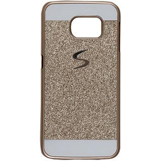 Samsung Galaxy S7 Gold Glitter Back Cover