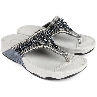 Liberty Tiptopp Women Silver Flats