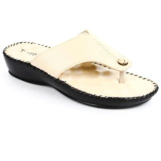 Liberty Tiptopp Women Cream Flats