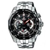 NEW CASIO EDIFICE MENS CHRONOGRAPH WATCH EF-550D 1AVDF BLACK DIAL
