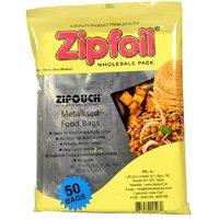Zipfoil Food Bag Pack of 50 U, 15 cm X 20 cm