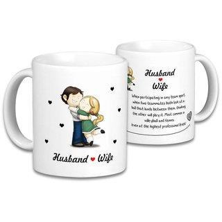 The Husband  Wife Mugs