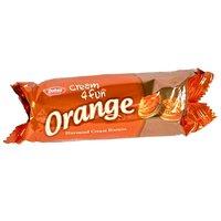 Dukes Cream 4 Fun Biscuits Orange, Pack Of 10 X 56 g