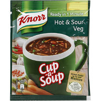 Knorr Cup Soup Instant, Hot N Sour, 11 g