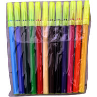 Kokuyo Camlin  Sketch Pens                     12 Assorted Colors