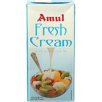 Amul Fresh Cream Tetra Pack 1 L