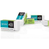 Apsara Non-Dust Eraser  Pack of 20 U, Non Dust