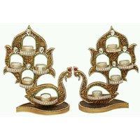 Yugal Art Creations Designer Diyas For Diwali