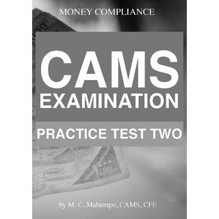 CAMS Examination Practice Test Two