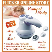 TOP QUALITY ORIGINAL MANIPOL COMPLETE BODY MASSAGER VERY POWERFUL STRONG VIBRATING WITH FREE 3 ATTACHMENTS