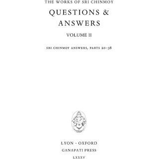 Questions  Answers, vol. II