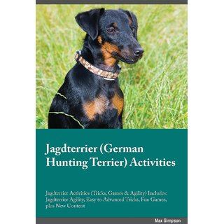 Jagdterrier German Hunting Terrier Activities Jagdterrier Activities (Tricks, Games  Agility) Includes