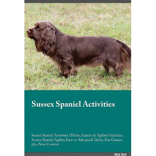 Sussex Spaniel Activities Sussex Spaniel Activities (Tricks, Games  Agility) Includes