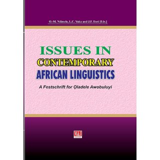 Issues in Contemporary African Linguistics