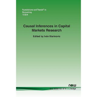 Causal Inferences in Capital Markets Research