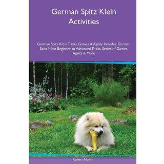 German Spitz Klein  Activities German Spitz Klein Tricks, Games  Agility. Includes