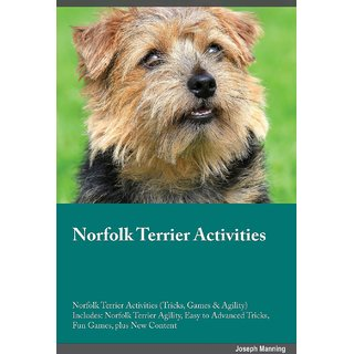 Norfolk Terrier Activities Norfolk Terrier Activities (Tricks, Games  Agility) Includes