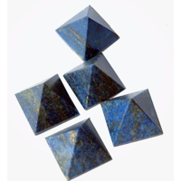 Sale !Stock Clearance Sale - Set Of 5 Lapis Lazuli Pyramid