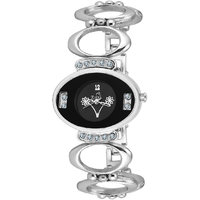 Ziera Round Dial Silver Analog Watch For Women-Zr-8001