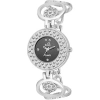 Ziera Round Dial Silver Analog Watch For Women-Zr8021