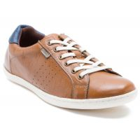 Red Tape Men's Tan Lace-up Casual Shoes