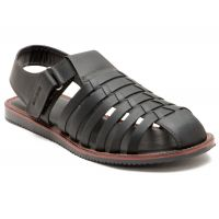 Red Tape Mens Black Casual Sandals