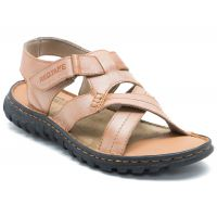 Red Tape Mens Tan Casual Sandals
