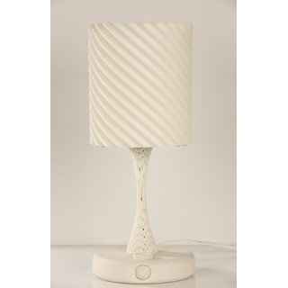 Freya- Ambient Light Sensing Table Lamp (White) by VEXMA