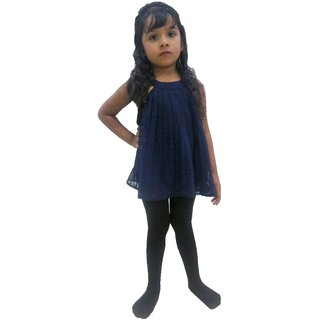 Girls Kids Footed Tights instockings Legging Ballet Dance Waist Black instocking ALZ6210 Fashion Leggis