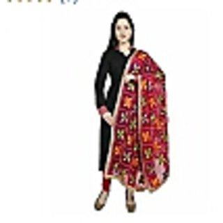 Dupatta Bazaar Punjabi Phulkari Embroidery Chiffon