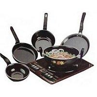 Milton 5 Piece Induction Base Cookware Set