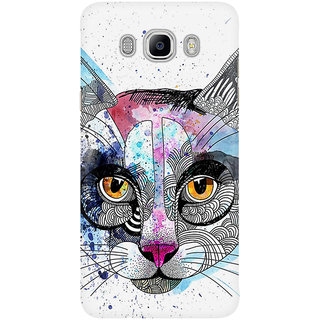 Dreambolic The Cat  Face Graphic Mobile Back Cover