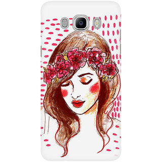 Dreambolic Flower Child Mobile Back Cover