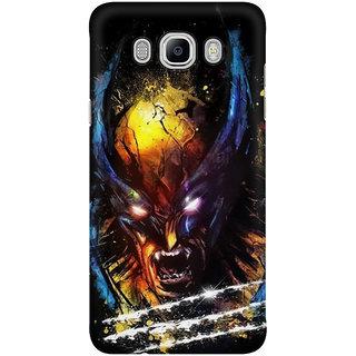 Dreambolic Wolverine Art Mobile Back Cover