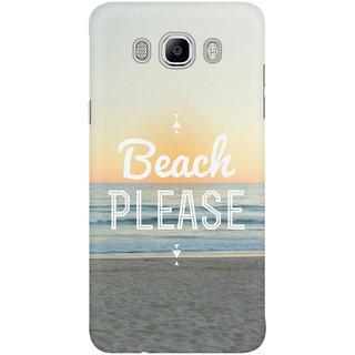 Dreambolic Beach Please Graphic Mobile Back Cover