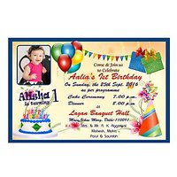 Personalised Birthday Invitation Cards (Set of 50 pcs)