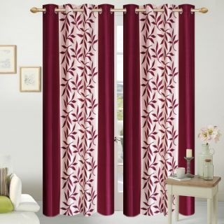 Shopaholic Eyelet Long Door Single Curtain(CLK1-08)