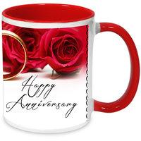 Happy Anniversary Love Forever Mug