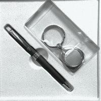 Parker Aster Matte Black CT BP + Keychain (In a Parker TIN box)