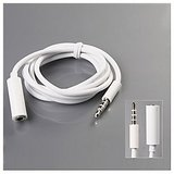 3.5mm Stereo Male To Female Extension Cable Audio Output For IPod IPhone IPad