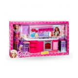 Barbie Cooking Fun Kitchen With Doll