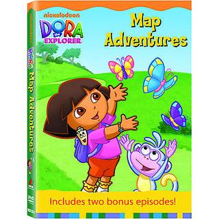 Online Dora The Explorer Map Adventures DVD Prices ...
