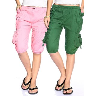 Nemis Cotton Capri Combo