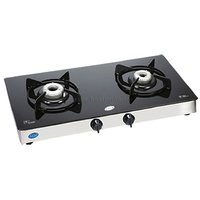 Glen 2 Burner Glass Gl 1020 Gt, 1N