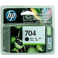 Hp Inkjet Cartridge 704 Black Ink