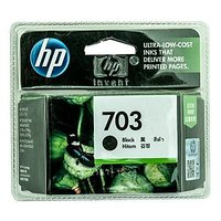 Hp Inkjet Cartridge 703 Black Ink